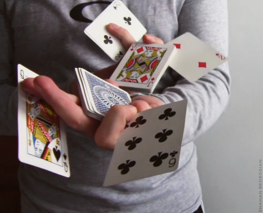 What sleight of hand can you display? Photo courtesy of https://en.wikipedia.org/wiki/Sleight_of_hand