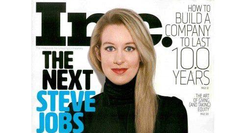 Elizabeth Holmes in Inc Magazine