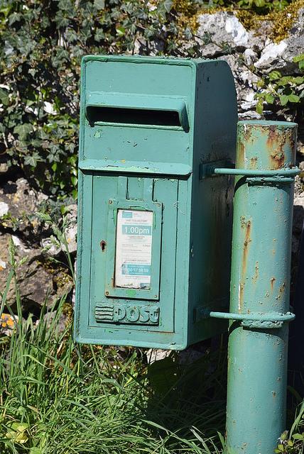 information hiding postbox