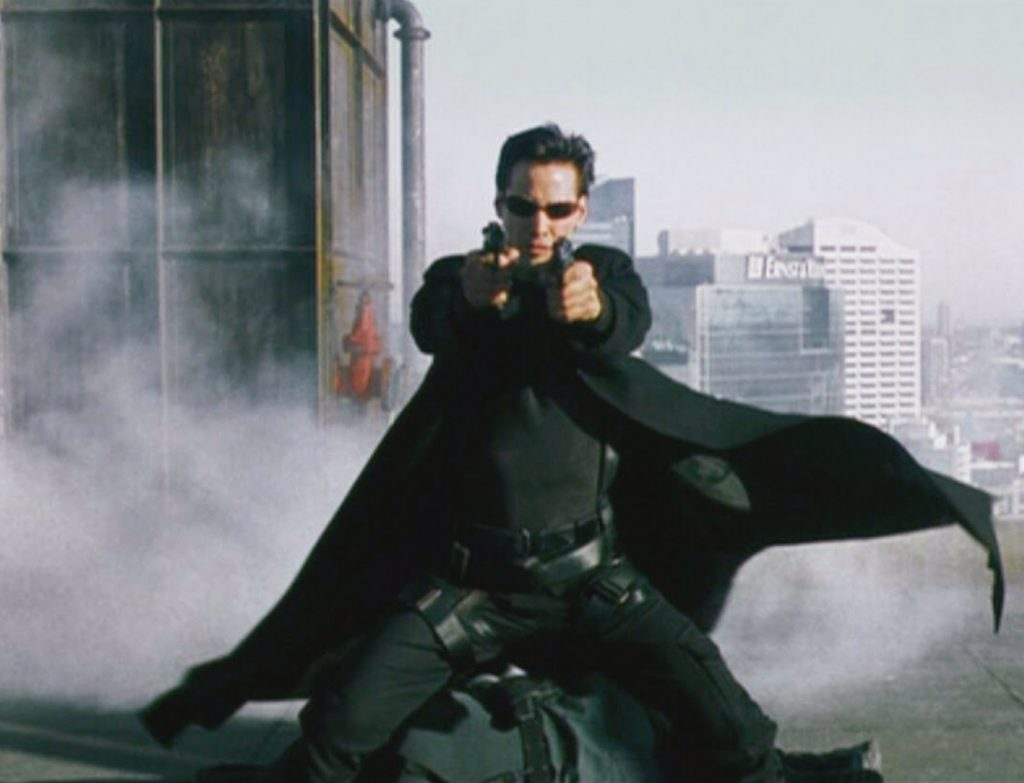 Neo from the Matrix: Quick Tests