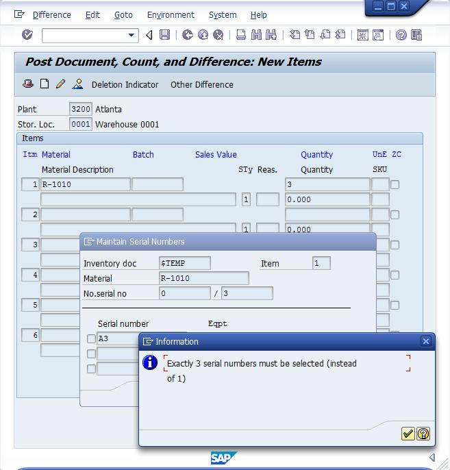 MI10 Serialization