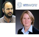 Paul Maritz and Diane Greene