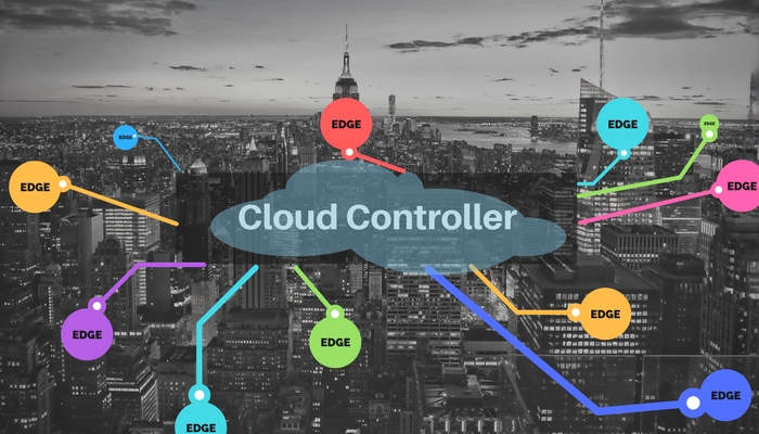 SD-WAN, IoT, cloud controller