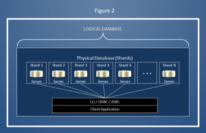 data distribution, logical database, physical database