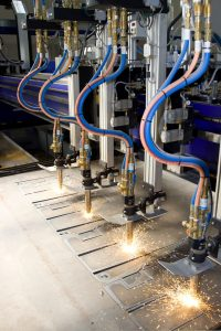 IoT in manufacturing plant, on factory floor