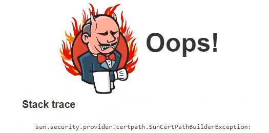 Fix SunCertPathBuilderException Jenkins plugin download error
