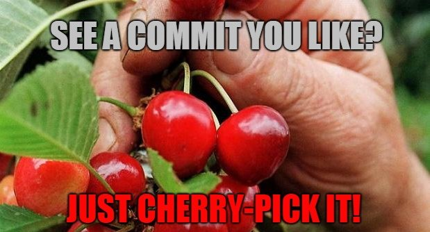 Learn to git cherry-pick a commit with this easy example - Coffee