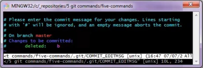 Changing away from Vim as the default Git text editor