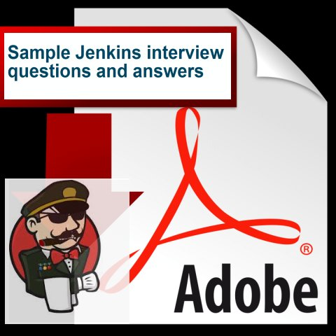 Jenkins interview questions and answers PDF download for experienced
