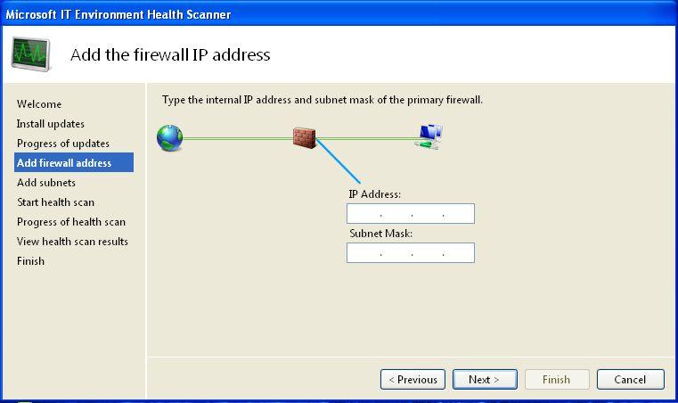 Firewall IP address information