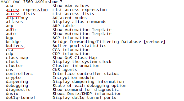 Terminal full-help a little known feature in Cisco Device