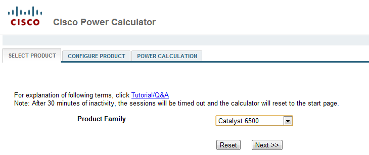 Cisco Power Calculator an amazing tool  - Network