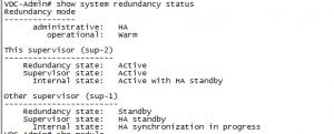 Nexus Module HA avail