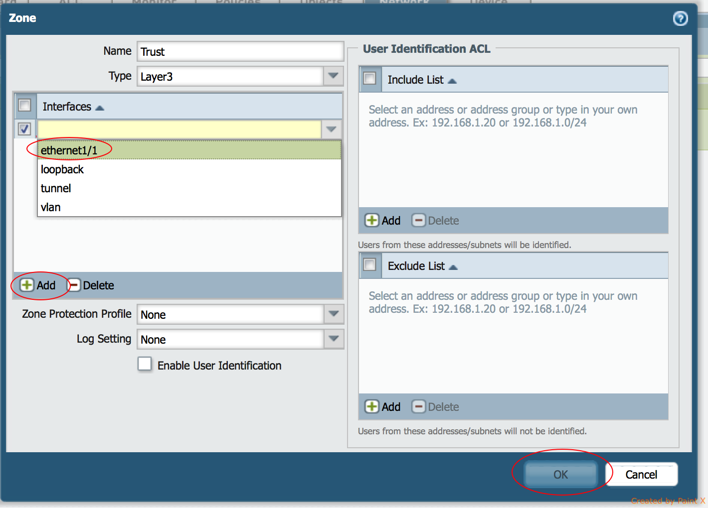 How to configure a Layer 3 zone in Palo Alto Networks