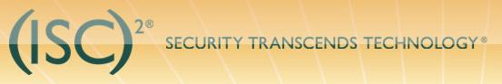 The International Information Systems Security Certification Consortium logo