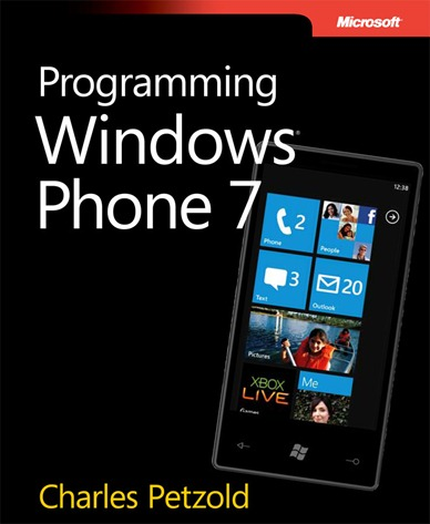 "Cover shot for ""Programming Windows Phone 7"""