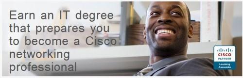 University of Phoenix banner for CCNA Associate Degree