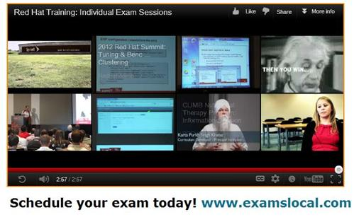 End of the reel for the Innovative Exams/Red Hat video