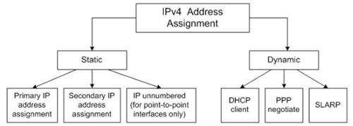 Working through IP address assignment possibilities.