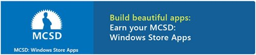 The Windows Store Apps MCSD is as close to current mobile app development as you get right now.