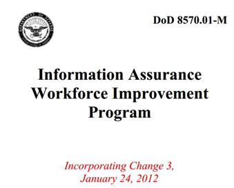The Feds not only care about certs, but how current related skills and knowledge should be.