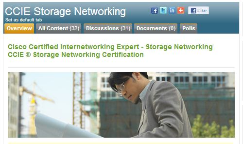 As of 7/1/2013, no more CCIE Storage Networking certs will be issued.