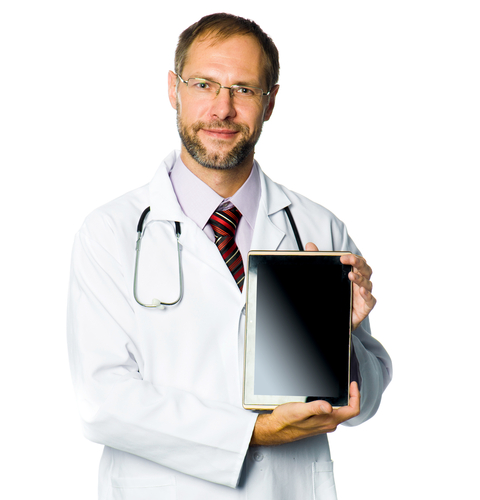 An increasing number of medical professionals are turning to mobile devices on the job.