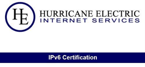Hurricane Electric offers an interesting, detailed, multi-level IPv6 cert ladder.