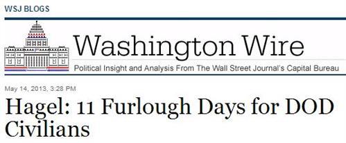 wsj-DoD-furlough