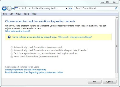 Interesting to see group policy mentioned on a non-AD Windows client