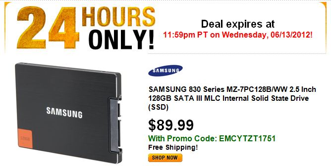 About $0.75 per GB remains pricey but a great deal for a pretty fast SSD
