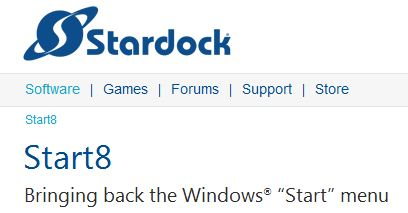 Stardock brings back the Start button but it's still not the same!