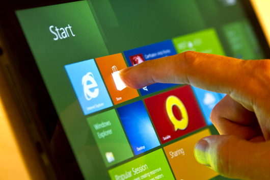 Adding touch to Win8 remains a key (and often missing) ingredient.