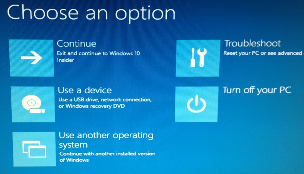 Boot Win10 From USB Media - Windows Enterprise Desktop