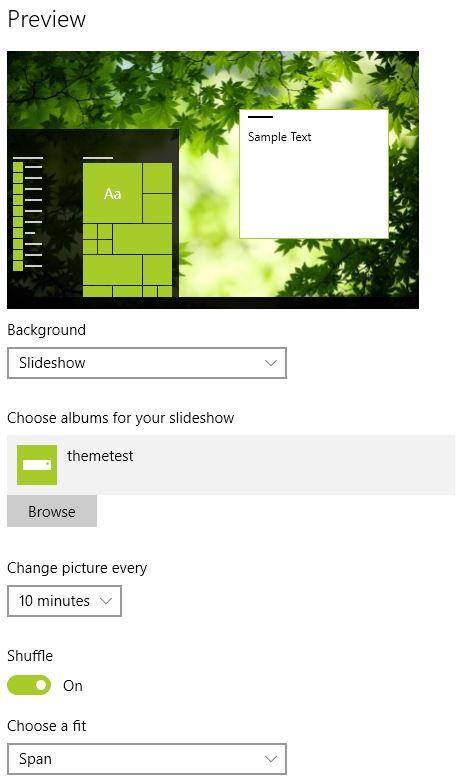 Win10 eyecandy desktop themes