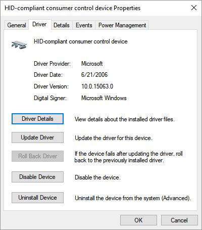 Current MS Drivers Show Vista 2006 Date