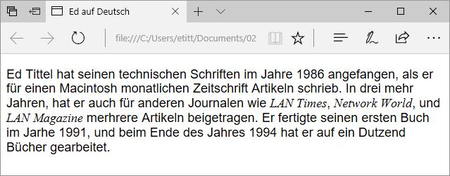 Access HTML Files Using Edge