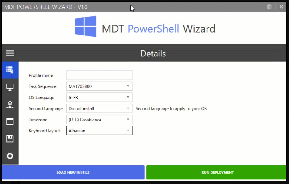 MDT PS Wizard Covers MS Deployment Toolkit Wizards