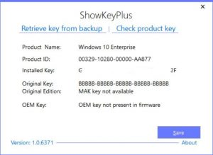 Skip Product Key When Sysprepping Win10