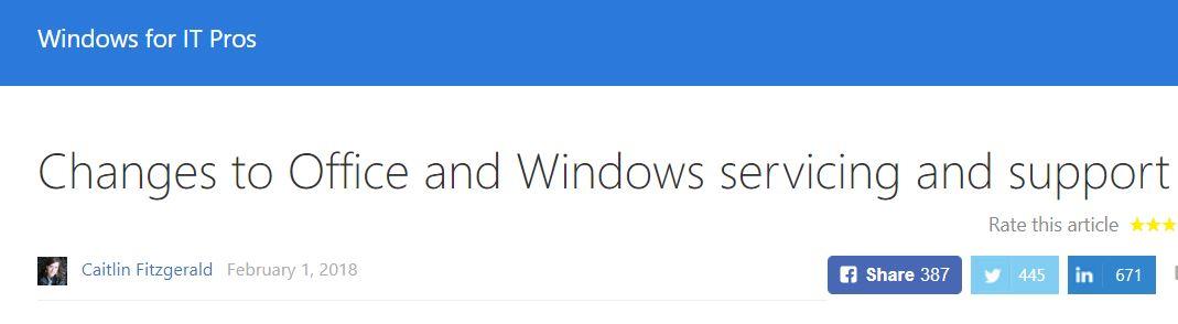 No Win10 Means No Office 2019 - Windows Enterprise Desktop