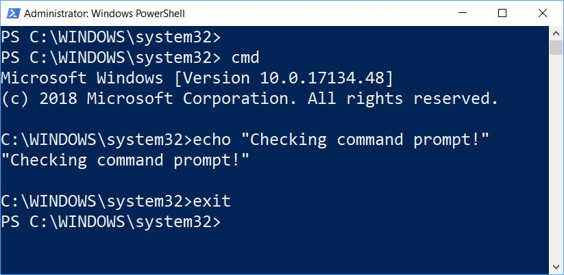 Windows Command Line Reference Observations.cmd-inside-PS