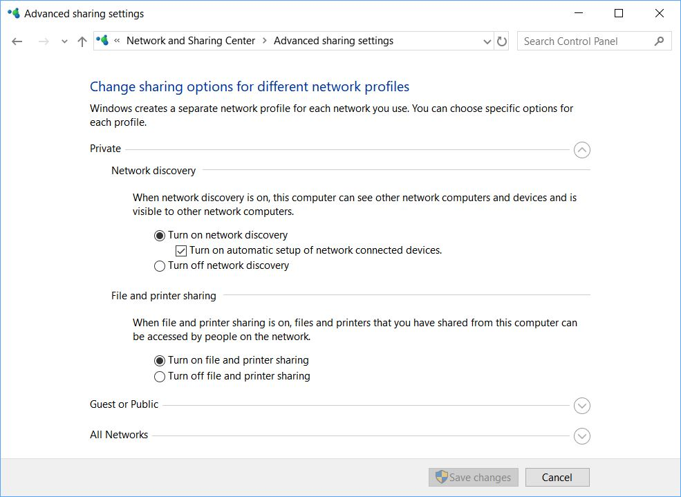 Bring Back Basic Win10 1803 Networking.N&S
