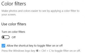 Ctrl+Winkey+C Toggles Win10 Display to Grayscale Mode.filters