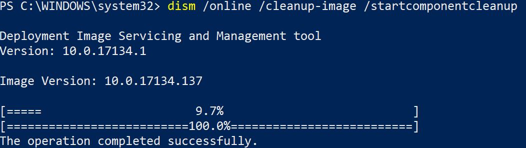 DISM Cleans Up After Windows Update.clean
