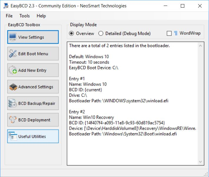 Add Recovery Partition to Win10 Boot Menu.easybcd-newsettings