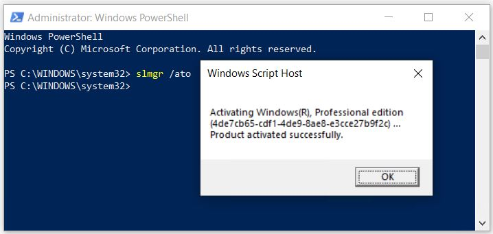 MS Activation Server Issues Temporarily Negate Win10 Licenses.slmgr