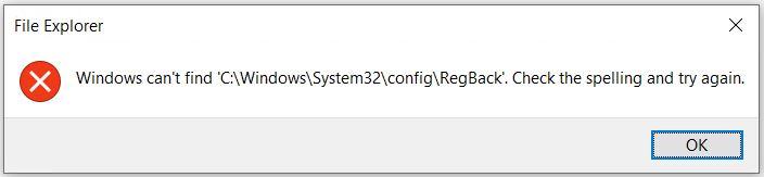 Win10 Registry Backup Task Broken.cantfind