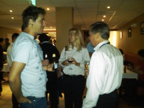 Brian Madden and others at TechTarget's VMworld 2009 show.
