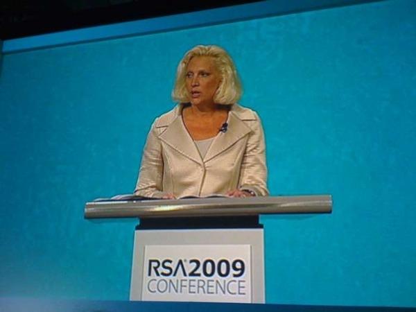 Melissa Hathaway at RSA