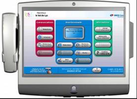 terminal patient multimedia